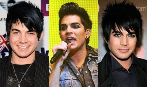 Adam Lambert S Hair And Makeup