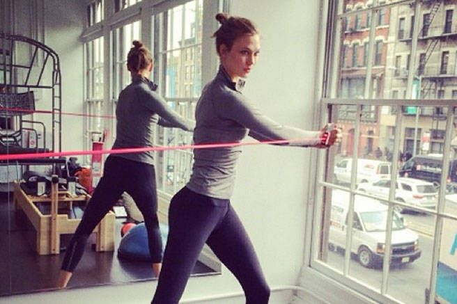 I Worked Out Like Karlie Kloss For A Month
