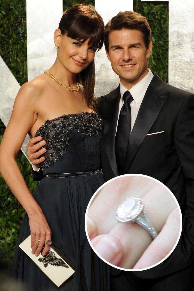 gorgeous celebrity engagement ring and wedding bands - best celeb