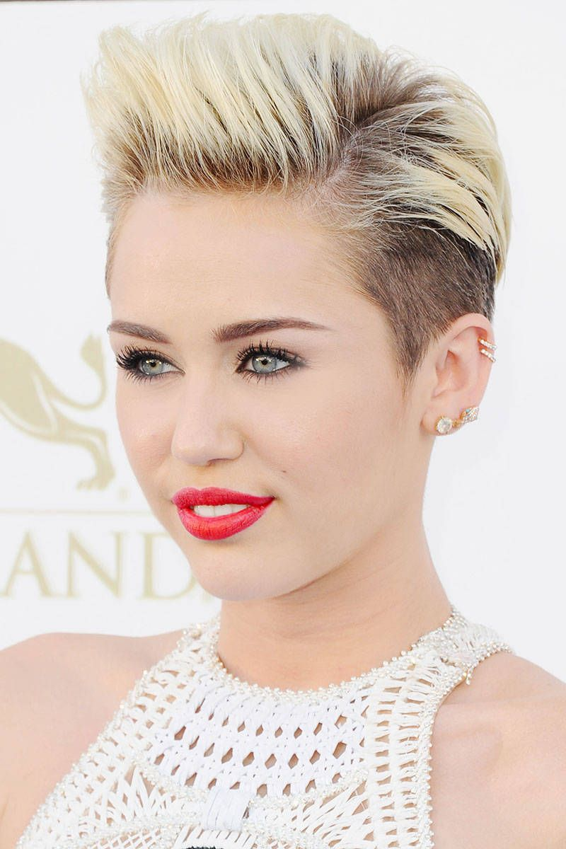 Celebrity Pixie Hair Styles