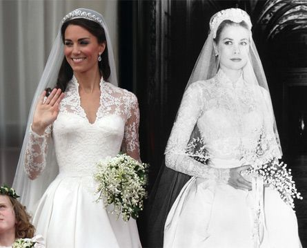 Catherine Middleton Ss Of Cambridge And Grace Kelly Princess Monaco Photos Getty Images
