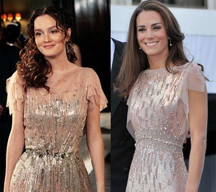 1d1938671 Kate Middleton Channels Blair Waldorf