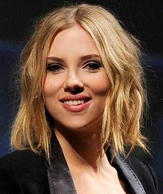 Surprising Scarlett Johanssons New Short Hairstyle Schematic Wiring Diagrams Amerangerunnerswayorg