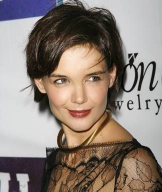 Hollywood Hairstyles Katie Holmes
