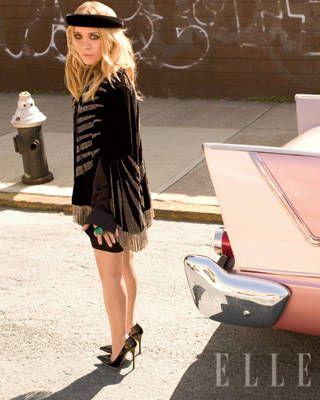 Mary-Kate Olsen ELLE Covershoot