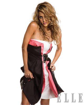 Jessica Alba ELLE Covershoot