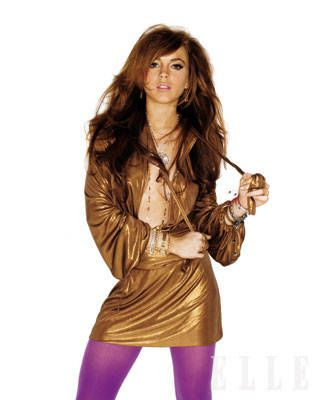 Lindsay Lohan ELLE Covershoot