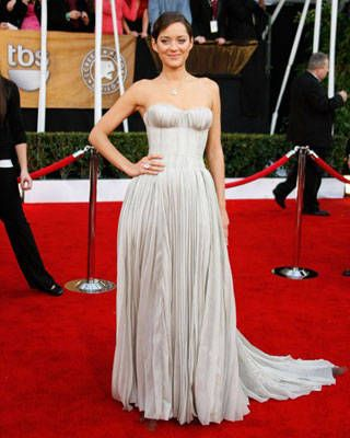 Marion Cotillard at the SAG Awards