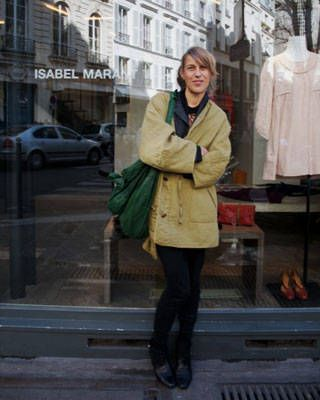 Isabel Marant in Paris