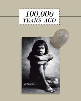 Primitive rock-haulers evolve into Homo sapiens.