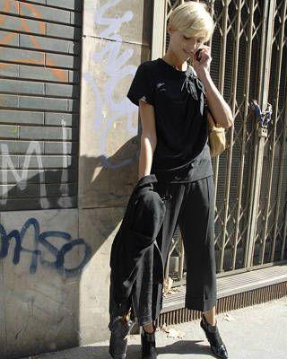 Anja Rubik, Models off duty street chic, fashion