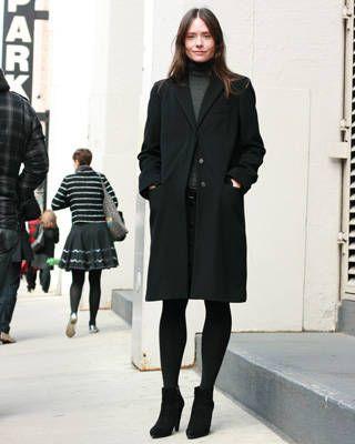 NY fashion week street chic, fashion