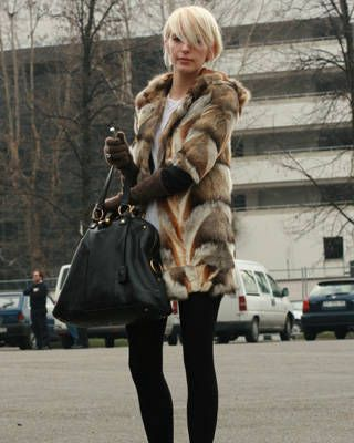 Milan fashion week street chic, fashion