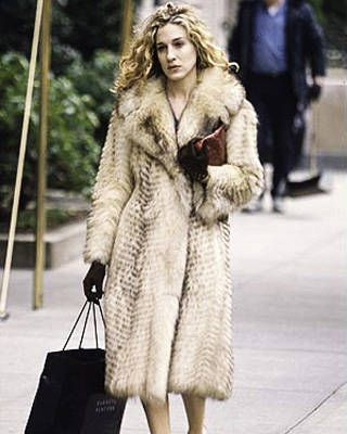Sex and the City fur coat
