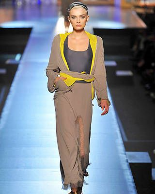 Paris fashion trends, Jean Paul Gaultier, Spring 2009