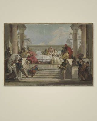 "Giovanni Battista Tiepolo. ""The Banquet of Cleopatra"" 1740s."