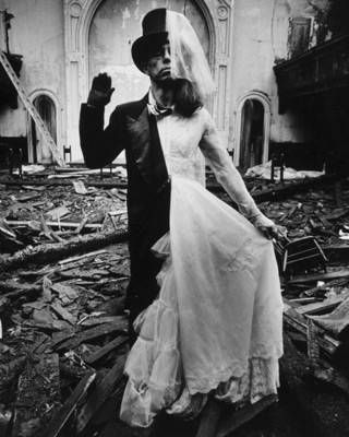 Untitled (Bride and Groom), 1970, Arthur Tress