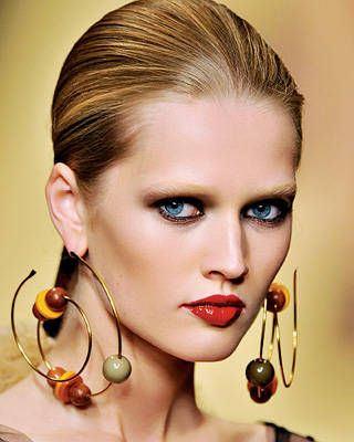 Louis Vuitton long earrings