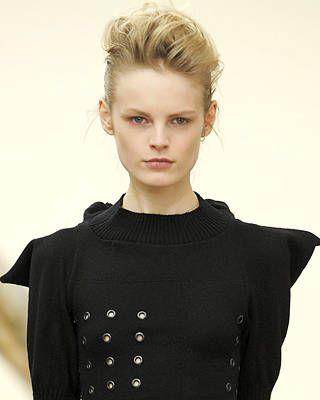 Armand Basi One Hairstyle Fall Fashion Week