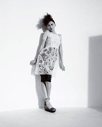 fashion trend - Fendi Macramé dress