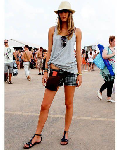Clothing, Footwear, Leg, Hat, Denim, Human leg, Summer, Street fashion, Shorts, Fashion accessory,