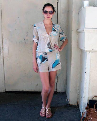 Street Chic - floral dresses