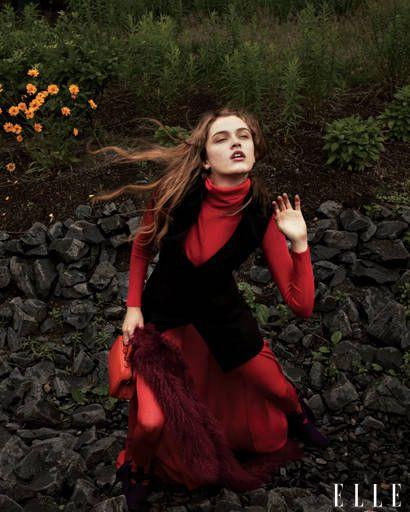 fall trends - Akris wool crepe vest