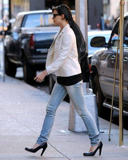 fall fashion - Women in Hollywood Katie Holmes