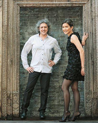 Yiouri and Ria Augousti