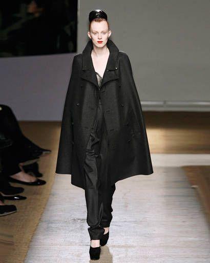 winter fashion - Yves Saint Laurent fall 2009