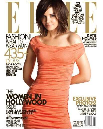 Women in Hollywood - November 2009 Katie Holmes Cover Shoto