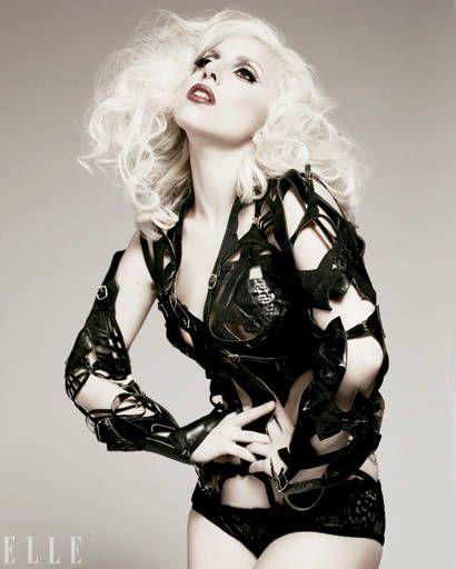 Lady Gaga ELLE January Cover Shoot