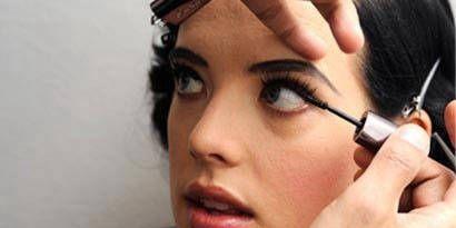 Nose, Finger, Lip, Cheek, Brown, Eye, Hairstyle, Skin, Eyelash, Forehead,