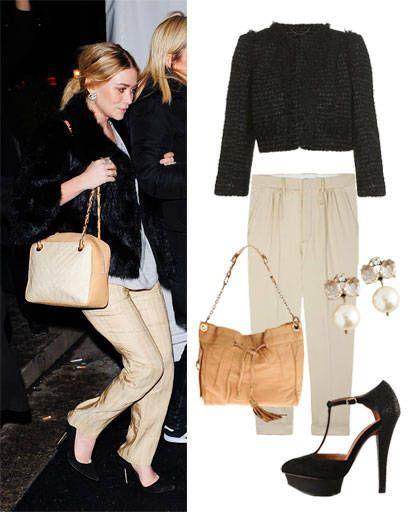 Ashley Olsen's style