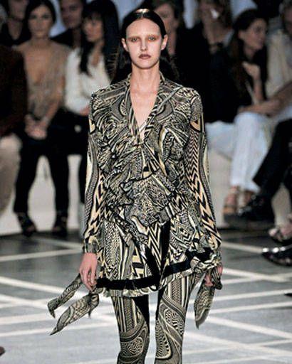 Givenchy, spring 2010