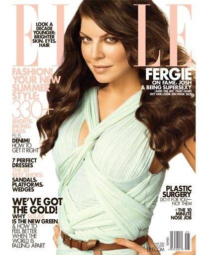 Fergie ELLE Cover
