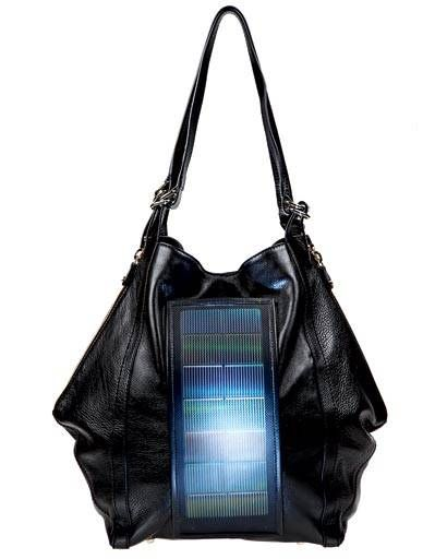 Loeffler Randal solar-powered bag