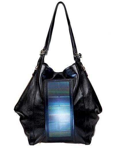 Loeffler Randal solar-powered bag