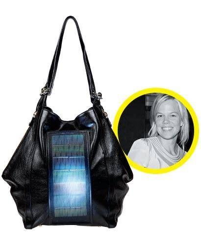 solar-powered Loeffler Randall bag
