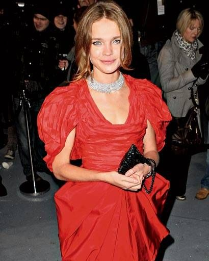 Natalia Vodianova at the Love Ball