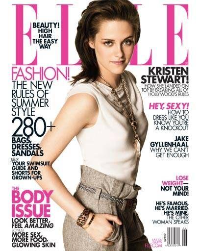 Kristen Stewart ELLE cover