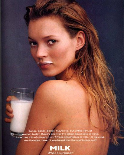 Kate Moss Got Milk?