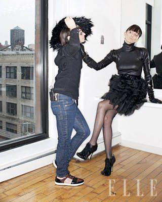 Christian Siriano with favorite model Lisa Nargi
