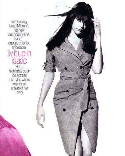 Liv Tyler fashion flashback