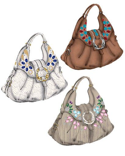 Bulgari Chandra City bags