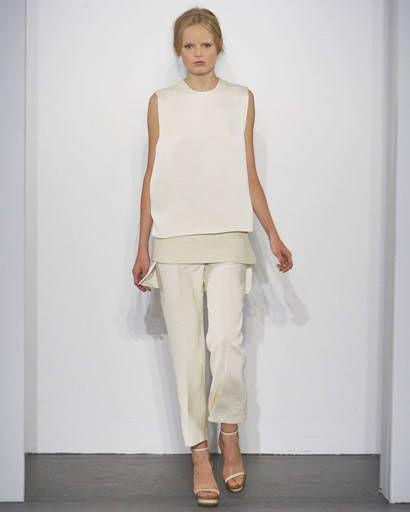 Calvin Klein runway photos