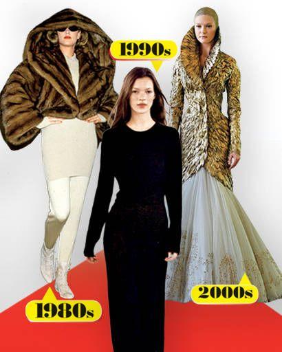 Alaïa, Calvin Klein, Alexander McQueen