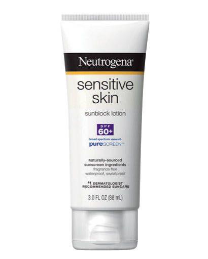 Neutrogena Sensitive Skin Sunblock Lotion