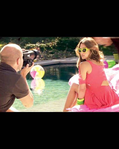 Jessica Alba cover shoot