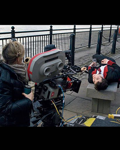 Taylor-Wood shooting Johnson for Nowhere Boy